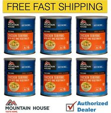 Mountain House Chicken Teriyaki Freeze Dried Emergency Food Supply 6 cans