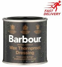 Barbour Wax Thornproof Waterproof Dressing Tin For Jackets & Clothing 200ml
