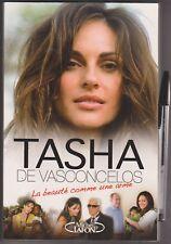 Tasha de Vasconcelos - la beauté comme une arme - Michel Lafon