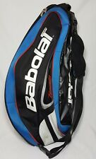 Babolat Team Tennis Dual Strap 6 Racquet Bag, Blue, White, Red & Black