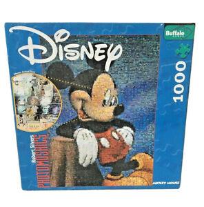 Disney Mickey Mouse Puzzle 1000 Pc Photomosaics By Robert Silvers Buffalo Games