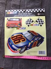 NASCAR RACING CAR Quality Removable Wall Stickers. Boys Bedroom - Made in USA.