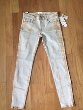 Hudson Jean Women Tie Dye Denim Jean, Size 30 NEW