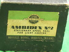 Lovely Vintage Ambidex No.2 Reel Box Spool Reel BOX. Just the Box RD6828