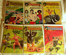 Tarzan of the Apes, UK #92,103,110,112,115,116 lot of 6, 1974-76 VF- to NM