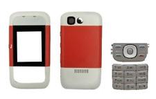 Fachada / Cuerpo Intercambiables Teclado ) ~ NOKIA 5200 (rojo y blanco)