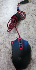 ReDragon Lite Mammoth 16400 DPI Black/Red Programmable Laser Gaming Mouse
