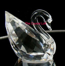 Swarovski * Scs * Facetted Swan Figurine * Retired in 1995 - This is a Deal