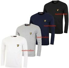 Lyle And Scott Long Sleeve Crew Neck T-shirt for Men