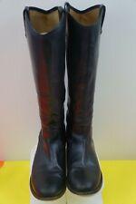 Frye Women's Melissa Button Lug Tall Knee High Boot, Black, Size 10B