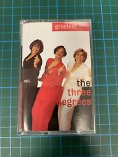 The Three Degrees Greatest Hits Audio Cassette - Tape - Complete