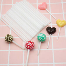 100X Lollipop Lolly Stick Party Supplies Candy  Chocolate Cake Making Mould I