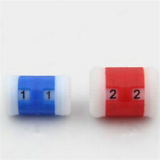 2PCS Size Mini Knitting Crochet Row Counter Tally Stitch Needle Crafts Plastic