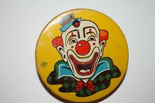 Vintage Clown Spinner Noisemaker Us Metal Toy Mfg Co Noise Makers New Year Party