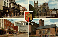 Exeter Devon England AK ~1960/70 Guildhall High Street Cathedral Church u.a.