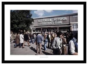 Tottenham Hotspur White Hart Lane Match Day 1976 Photo Memorabilia