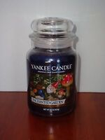 "Yankee Candle Large Jar Candle ""Enchanted Garden"" 22 oz New"