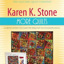 KAREN K. STONE MORE QUILTS EQ7 Add-In NEW Software CD Quilt Design 11 Projects