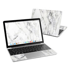 Apple MacBook 12in Skin - White Marble - Sticker Decal