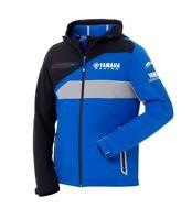 Genuine Yamaha Paddock Blue Men's Softshell Jacket Ehime Blue Jacket NEW