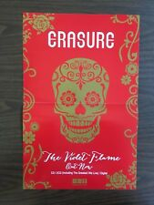Erasure The Violet Flame 11 X 17 Poster New Mute Records Andy Bell Synth Pop