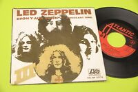 "LED ZEPPELIN 7"" IMMIGRANT SONG ORIG ITALY 1970 EX"