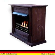 Floor Fireplace / Oven for Bio Gel & Ethanol Emily Deluxe Royal walnut