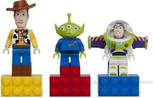 LEGO Toy Story Minifigure Magnets: Woody, Buzz and Alien New in Package