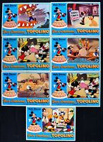 Fotobusta Happy Birthday Micky Disney Mickey Minnie Mouse Donald R149