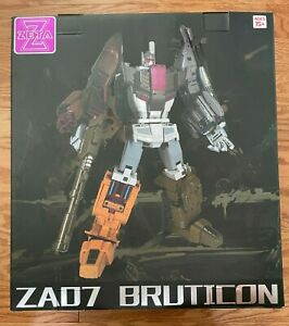 Zeta Toys ZA07 Armageddon Transformers Masterpiece Bruticus Metallic Edition