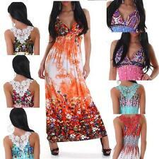 Unbranded V-Neck Casual Floral Dresses for Women