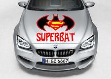 TRIBAL SUPERBAT LOGO DESIGN DECAL VINYL GRAPHIC HOOD CAR TRUCK