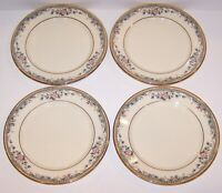 SET OF 4 LENOX AMERICAN HOME COLLECTION SPRING VISTA BREAD & BUTTER PLATES