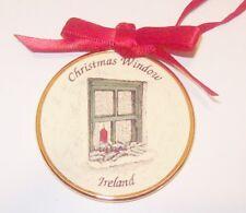 Christmas Window Ireland Irish Xmas Ornament Celtic Images Candle Holly Berries