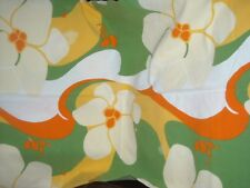 VINTAGE Marimekko cotton TABLECLOTH ~ Vivid BIG flowers