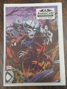 American Entertainment Catalog #20 🕸 1991 McFarlane Spider-man Wolverine COVER!