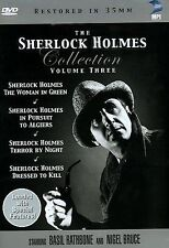 The Sherlock Holmes Collection - Vol. 3 (DVD, 2004, 4-Disc Set)Region 1