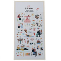 lovely day Series Decorative Stationery Stickers DIY Diary Album Stick Labe Jf