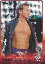 Chris Jericho Topps WWE 2015 Trading Card #17 WCW WWF