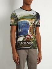 BNWT Dolce & Gabbana Linen T-Shirt Small RRP £325 round neck cotton