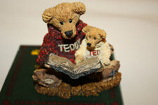 BOYDS BEARS & FRIENDS - TED & TEDDY - 1993C - BOX INCLUDED