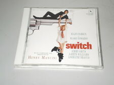 SWITCH - Henry Mancini -  ORIG OST JAPAN CD1990 - NO OBI - SLCS 7069 - OOP