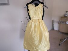 Dessy Girl Flower Girl/Special Occassion Silk Dress Size 3 Colour Snap Dragon