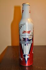 2013 BOSTON RED SOX WORLD SERIES CHAMPIONS LIMITED EDITION BUDWEISER BUD BOTTLE