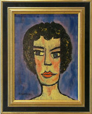 ANDREAS JAWLENSKY 1902-1984 POLAND POLISH EXPRESSIONIST PORTRAIT  TO $82,800