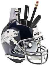 NEVADA WOLF PACK NCAA Schutt Mini Football Helmet DESK CADDY