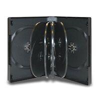 2 Multi 10 Disc DVD Cases CD Storage Black Holds Ten