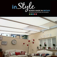 Lean To Conservatory Pleated Roof Blinds