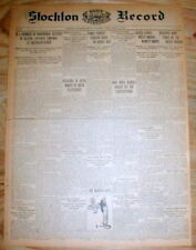 1915 WW I newspaper GREAT BRITAIN forms an AIR FORCE w AIRPLANES toHelp End WW I