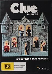Clue The Movie DVD - Free Post